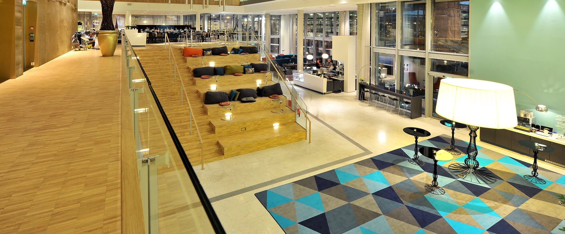Dansk Wilton carpet solutions for hotel Scandic Stavanger Airport