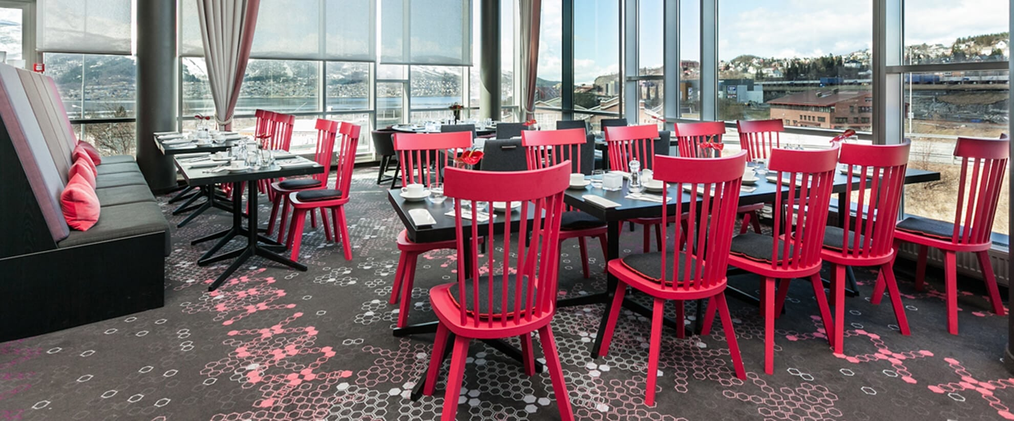Dansk Wilton carpet solutions for Scandic hotel Narvik