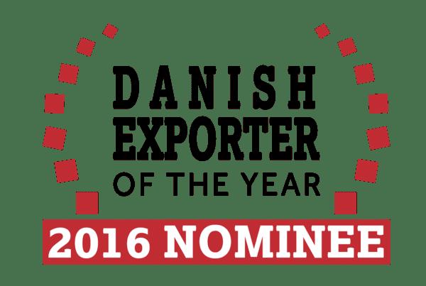 Dansk Wilton was nominee for the Danish Exporter of the year in 2016