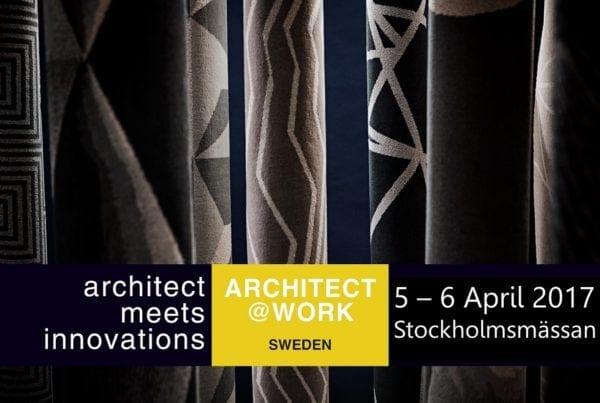 Meet Dansk Wilton at Stockholmsmässan for architects