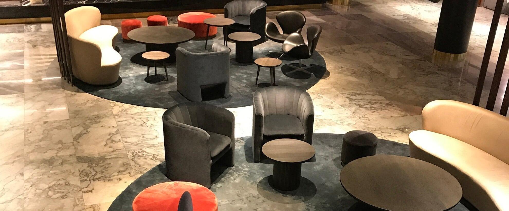 Royal Hotel in Copenhagen with Dansk Wilton carpet solutios