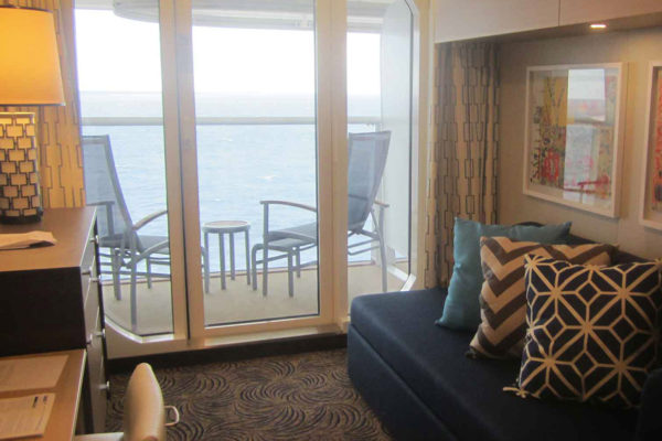 Inspiration from the cruise ship, Quantum of the Seas, where Dansk Wilton has delivered custom designed Colortec carpets for suites, passenger and crew cabins – all in all 2.754 rooms