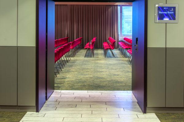 Sustainable carpet solution for Radisson Blu Scandinavia hotel in Copenhagen, delivered by Dansk Wilton