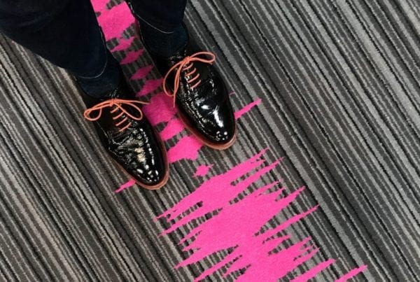 Dansk Wilton has delivered custom made luxury carpets for corridors and rooms for Moxy Hotels