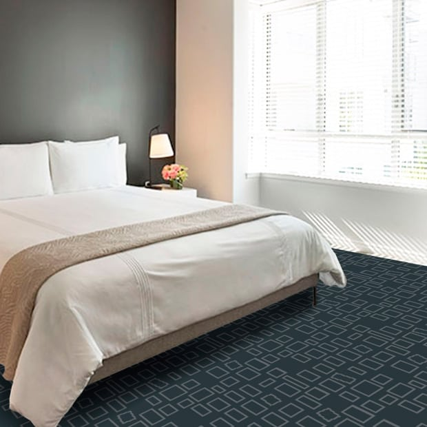 Dansk Wilton finds inspiration for carpet solutions for cruise ships and hotels in the textures and patterns of city facades and construction