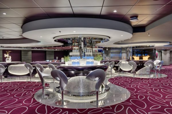 Dansk Wilton delivered custom design Axminster carpets for all public areas for three new ships for MSC Cruises