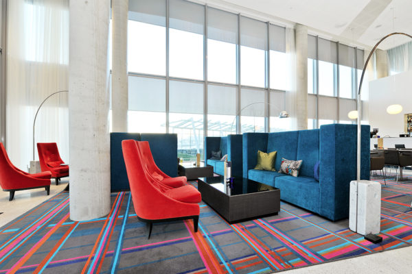 There are many good reasons why it has become popular to use area rugs and Hand Tuft rugs from Dansk Wilton in the interior design of hotels and cruise ships