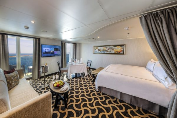 Sustainable carpet solution from Dansk Wilton, for one of Asia's most luxurious cruise ships, Dream Cruises