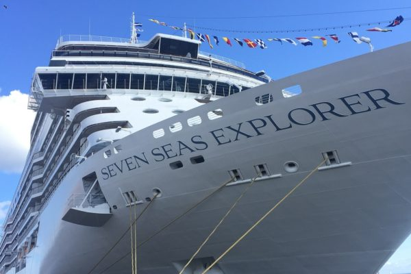 Dansk Wilton delivered TWIST carpets in nine different designs for 326 suites for the cruise ship Seven Seas Explorer