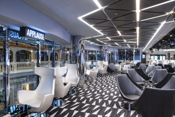 Custom designed Axmister carpets from Dansk Wilton are on board three new cruise ships for MSC Cruises