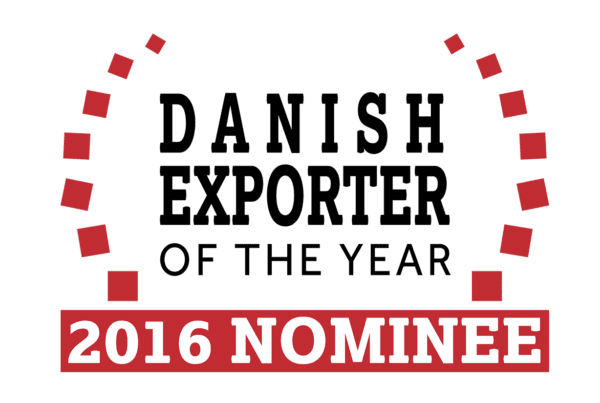 "Dansk Wilton was nominated as the ""Danish Exporter of the year 2016"""