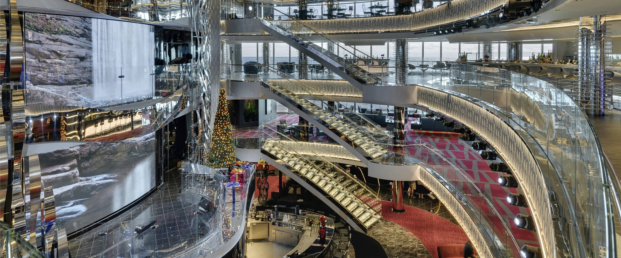 MSC Seaside with carpets for cruise ships from Dansk Wilton