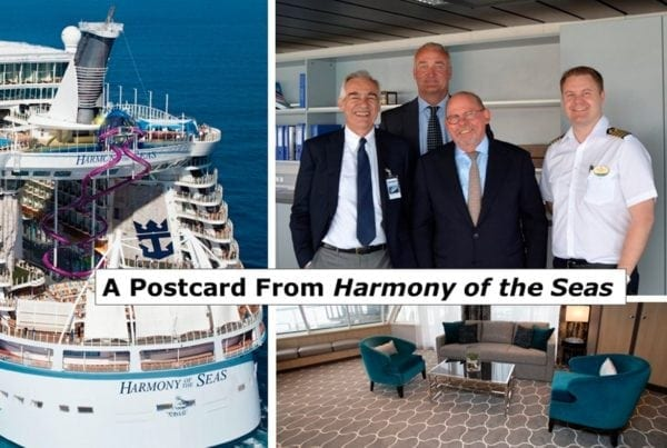 Postcard from Harmony of the Seas