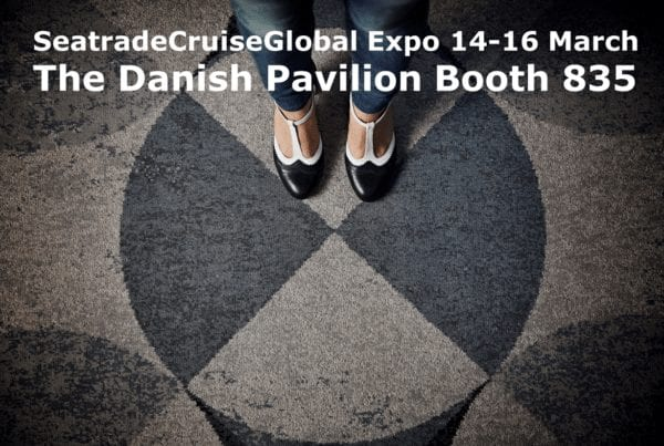 You can meet Dansk Wilton at the Danish Pavilion Booth 835 at the SeatradeCruiseGlobal in Fort Lauderdale from 14-16 March