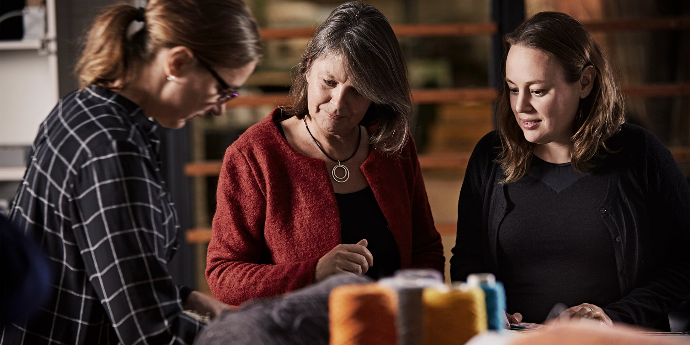 Meet our team of specialist in carpets at Dansk Wilton.