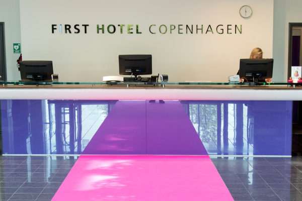Inspiration from the hotel Scandic Sluseholmen in Copenhagen, where Dansk Wilton has delivered custom designed carpet solutions
