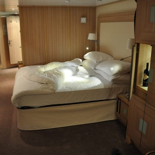 Carpet Solution from Dansk Wilton in a suite at the cruise ship Seabourn Sojourn