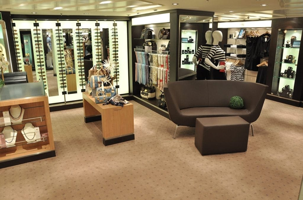 Dansk Wilton carpet solutions at Seabourn Sojourn