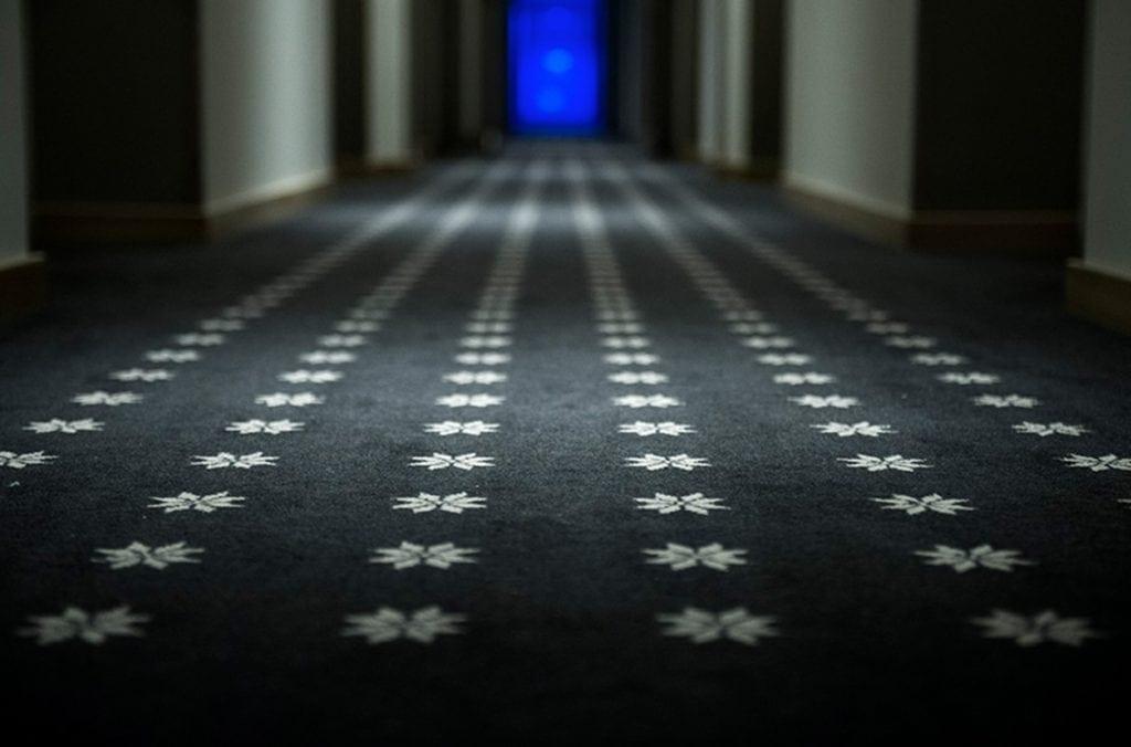 Unique carpet solution for Myrkdalen Hotel, delivered by Dansk Wilton