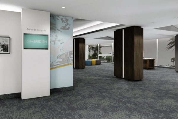Dansk Wilton carpet solutions for Le Meridien Nice