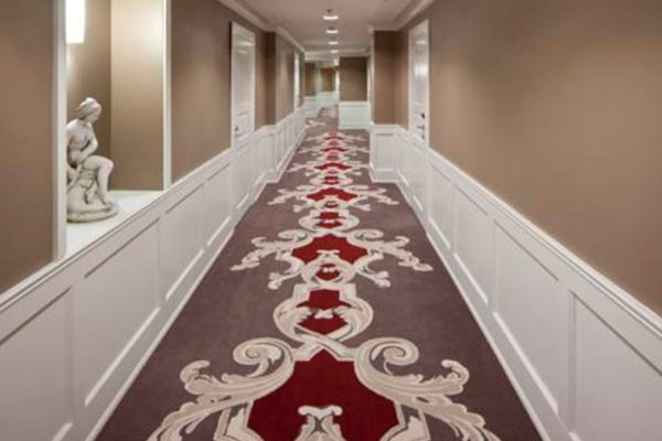 Unique carpet solution from Dansk Wilton for Holiday Club Resort in Saimaa