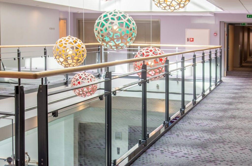 Sustainable carpet solution for the hotel Scandic Sluseholmen in Copenhagen, delivered by Dansk Wilton