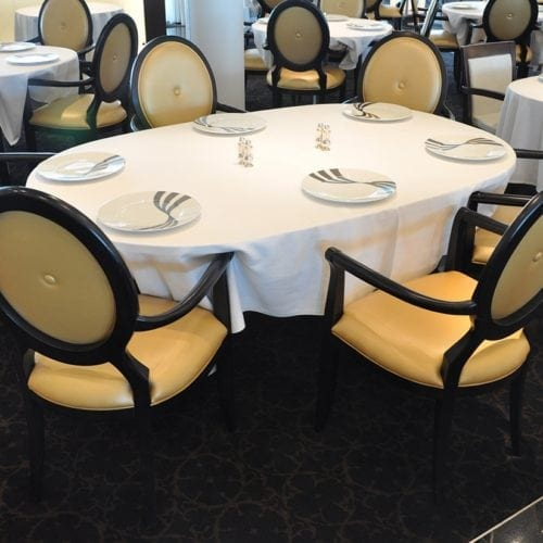 Dansk Wilton carpet solutions for the cruise ship Seabourn Sojourn