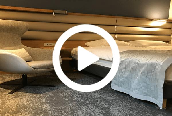 Dansk Wilton carpet solutions in hotel Mövenpick in Lausanne
