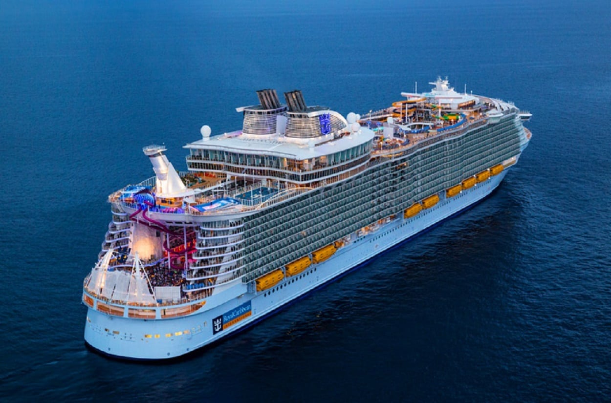 Dansk Wilton has delivered carpets for cruise ships like Royal Caribbean Symphony of the Seas