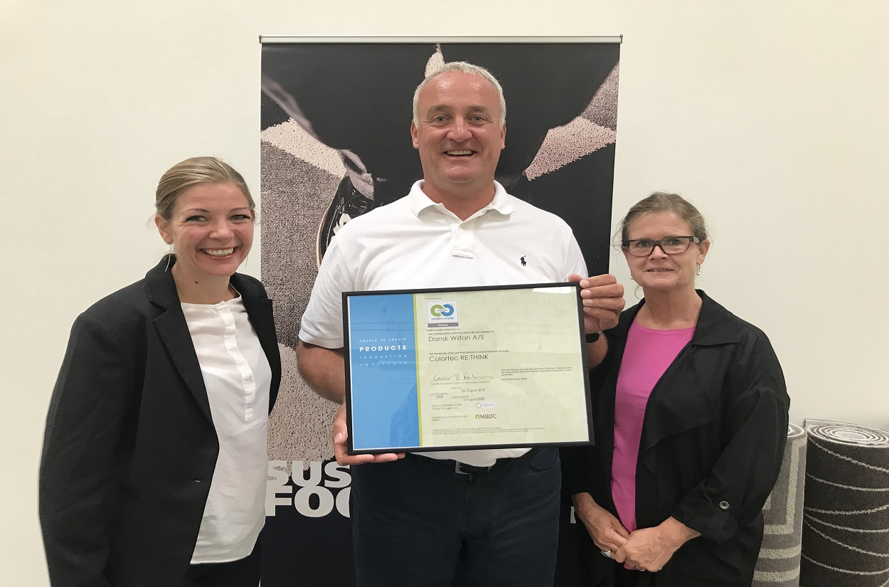 Cradle to Cradle certification for Dansk Wilton