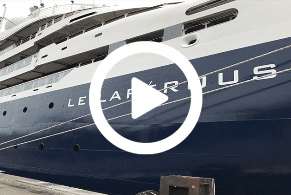 Dansk Wilton has delivered carpets for cruise ships like Le Lapérouse