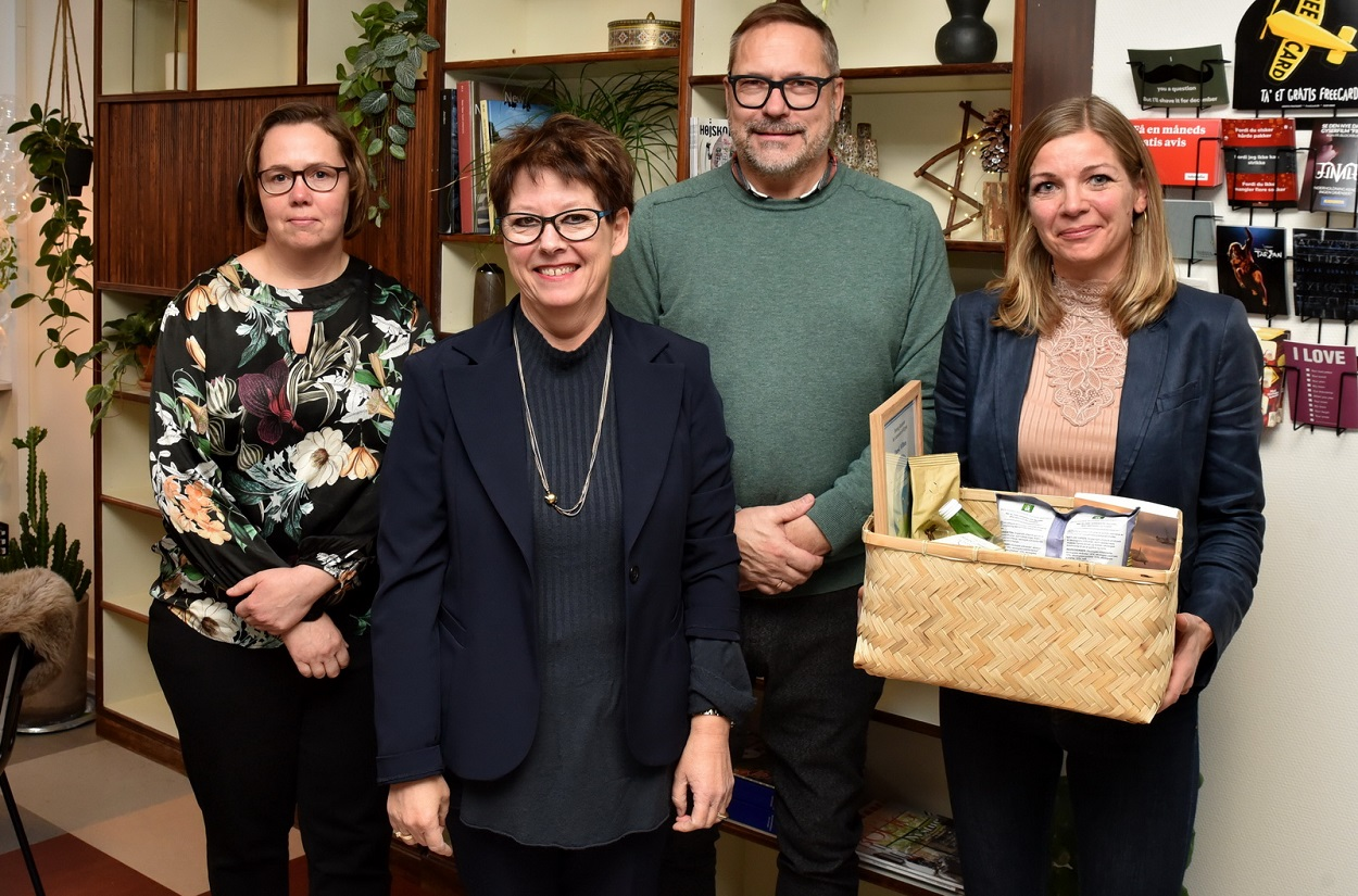 Dansk Wilton gets prizes for its wnviromental and climate actions
