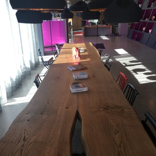 Check out the Moxy Munich Lobby
