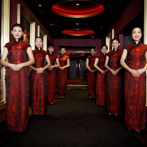 Get inspired by silk road waitresses