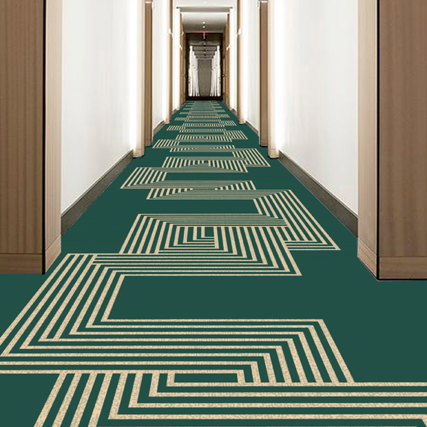Decometric carpet - Dansk Wilton