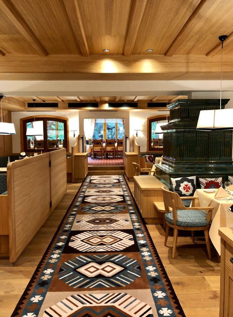Dansk Wilton - References - Hotel Hochschober - Mirror Interior - Carpets - Public Area 2