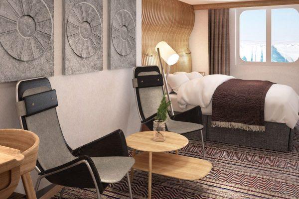 Dansk Wilton - Roald Amundsen - Carpet Design - Cabins with no balcony