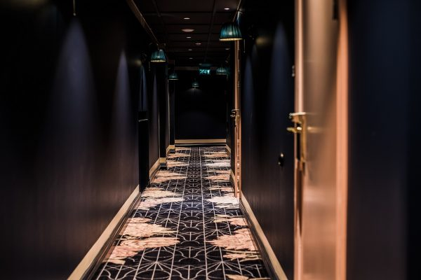 Dansk Wilton - The Vault Hotel - Corridor - Carpet Design