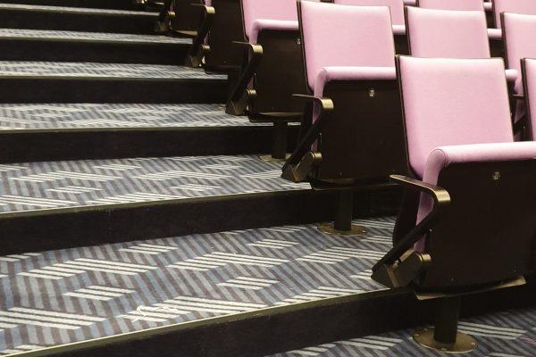 Dansk Wilton - Scandic Falkonér - Graphic Carpet - Conference Room - Grey Tones Carpet Design