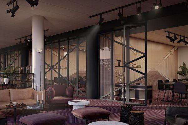 Dansk Wilton -Scandic Falkoner - Conference Facilities - Colortec Carpet - Graphic Design