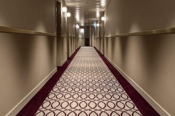 Hotel Walhalla_corridor_acoustics_colortec carpets