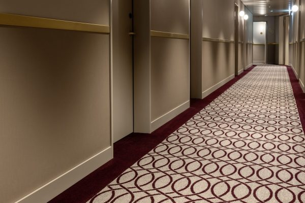 Hotel Walhalla_corridor_colortec carpet_optimized acoustics